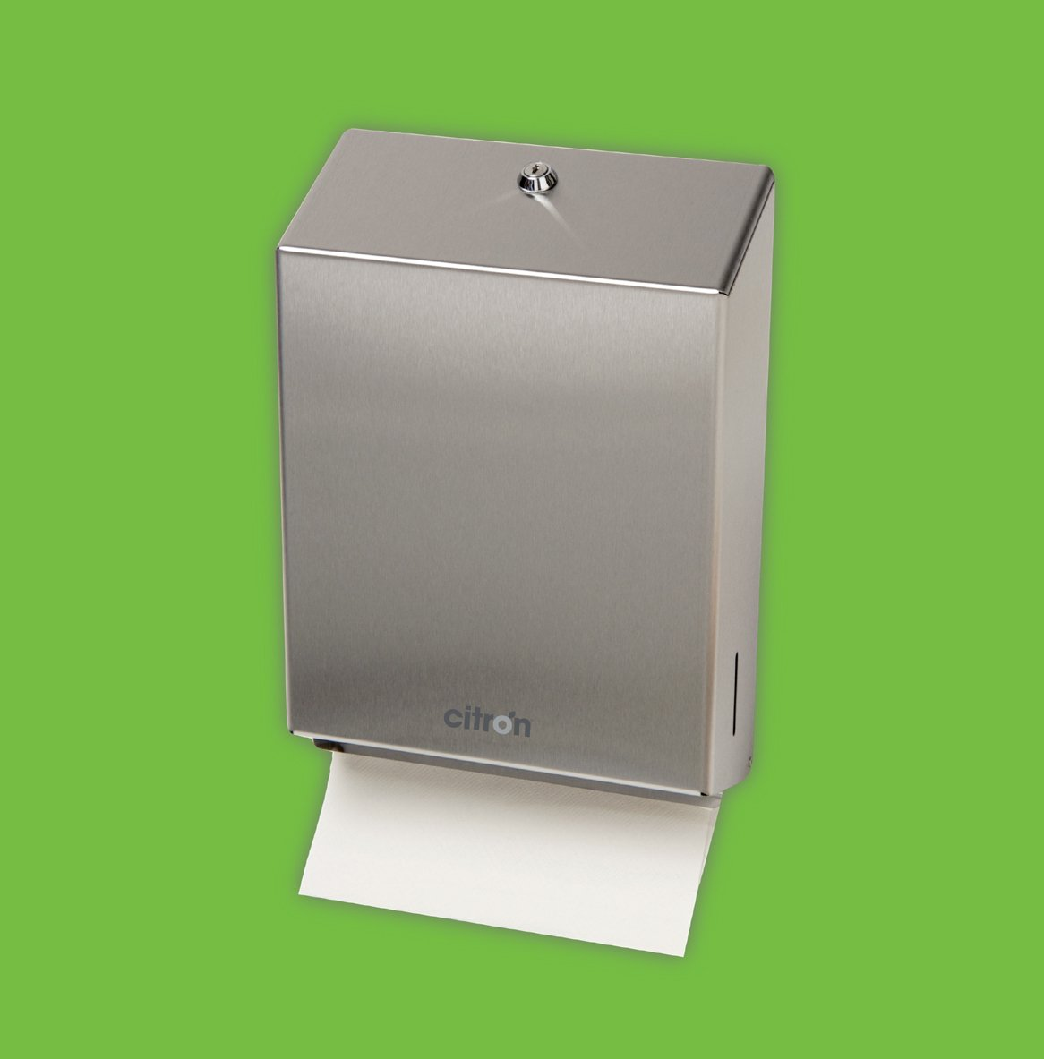 Stainless Steel Folded (Bulk Packed) Toilet Roll Dispenser