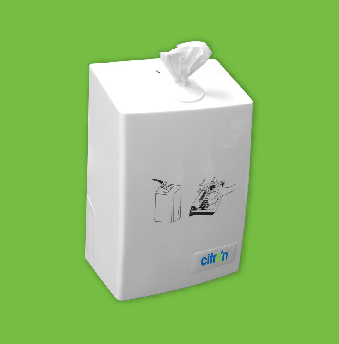 Citron Desk and Equipment Wipes