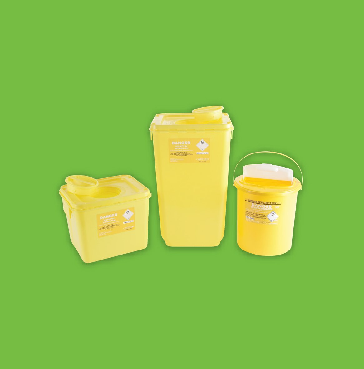 Hard Clinical Waste Disposal Units - Clinical Waste Disposal