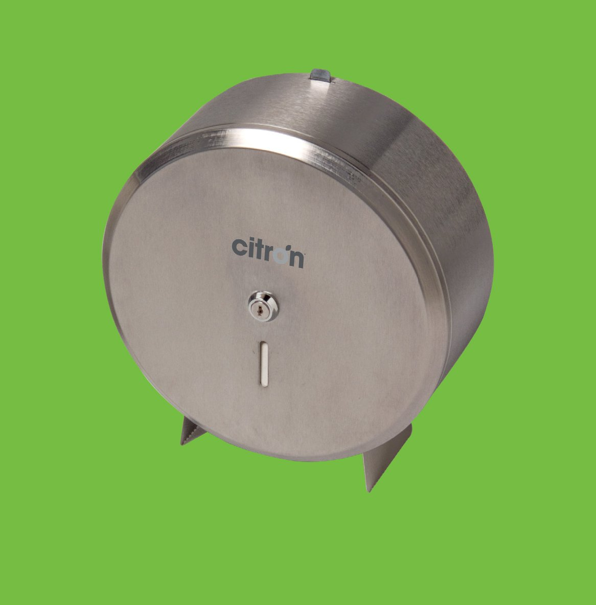 Stainless Steel Jumbo Toilet Roll Dispenser