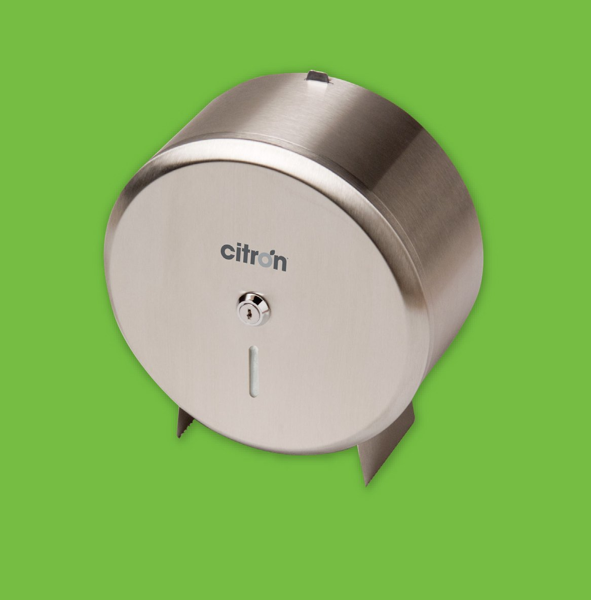 Stainless Steel Mini Jumbo Toilet Roll Dispenser