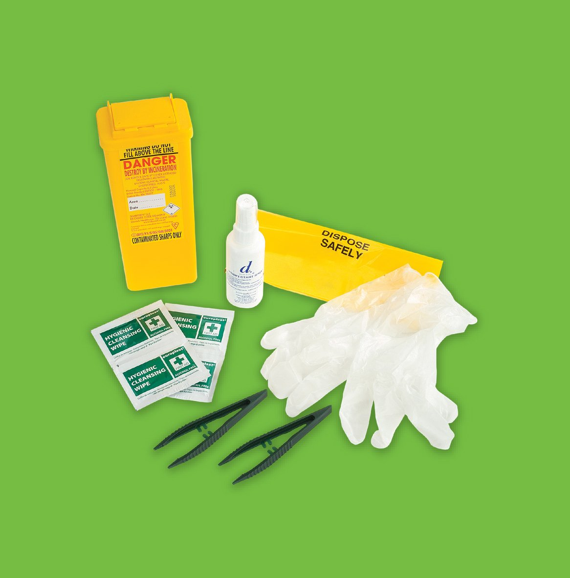 Sharps Injury Prevention Kit