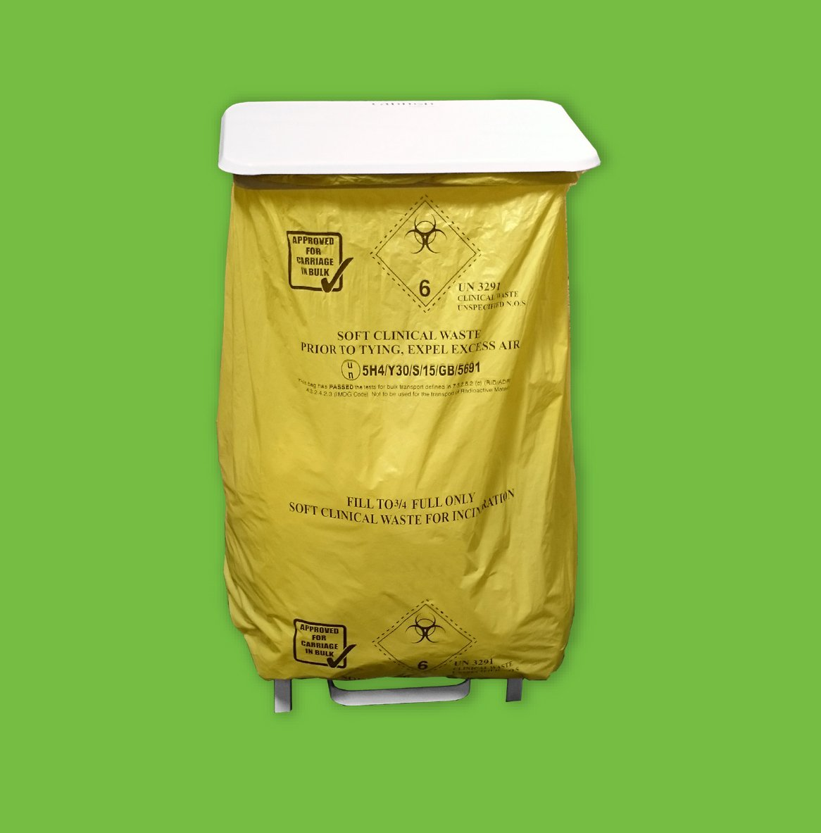 Soft Clinical Waste Bag Service - clinical waste disposal