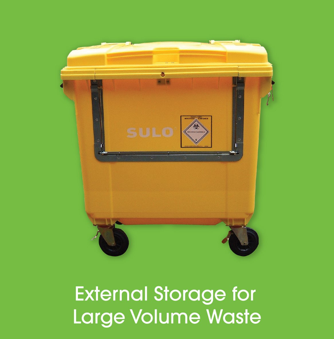 Soft Clinical Waste External Trolley - Clinical Waste Disposal
